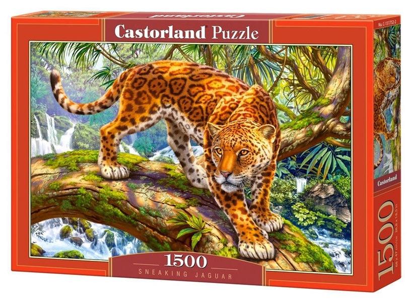 Puzle Castorland Sneaking Jaguar, 1500 gab.