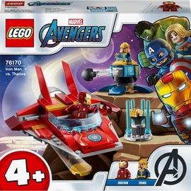 Konstruktors LEGO Marvel Avengers Dzelzs vīrs pret Thanos 76170, 103 gab.