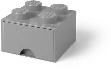 Room Copenhagen LEGO Brick Drawer 4 Grey