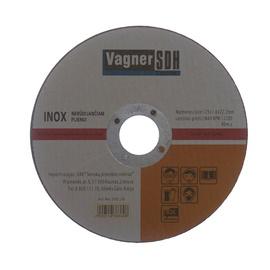 Disks nerūsējošā tērauda griešanai Vagner SDH 125x1,6x22,23mm