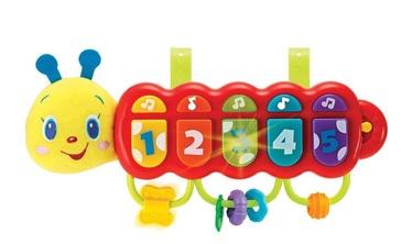 Interaktīva rotaļlieta WinFun Musical Caterpillar