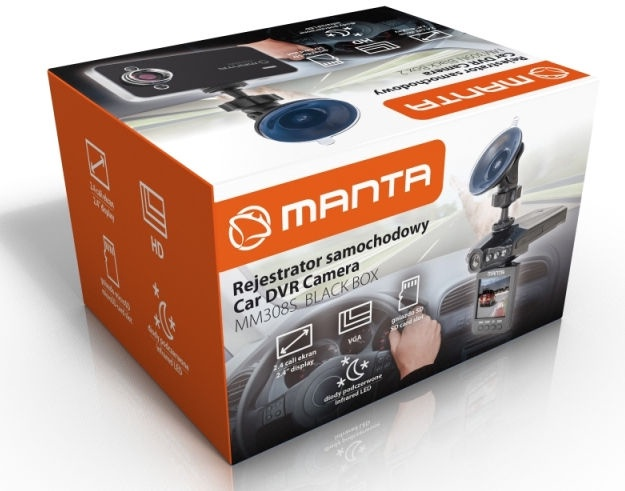 Videoreģistrators Manta MM308S