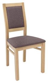 Ēdamistabas krēsls Black Red White Porto Brown