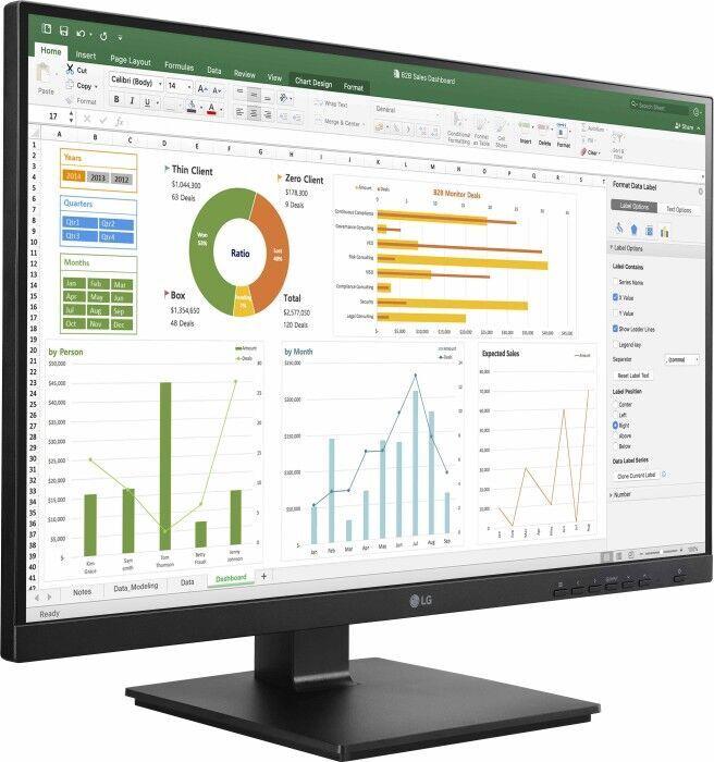 """Monitors LG 24BN650Y-T, 23.8"""", 5 ms"""