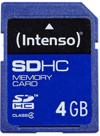 Intenso 4GB SDHC Class 10 3401450