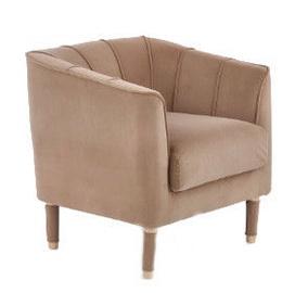 Atzveltnes krēsls Halmar Baltimore Grey, 72x67x71 cm