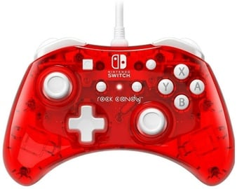 Pdp Rock Candy Wired Controller Stormin Cherry