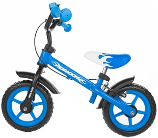 Velosipēds Milly Mally DRAGON Balance Bike With Brakes Blue 4751