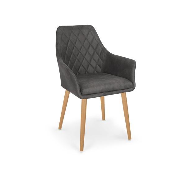 Ēdamistabas krēsls Halmar K287 Dark Brown