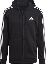 Пиджак Adidas Essentials French Terry 3-Stripes Full-Zip Hoodie GK9032 Black S