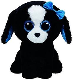 Mīkstā rotaļlieta TY Beanie Boos Dog Tracey Black, 24 cm