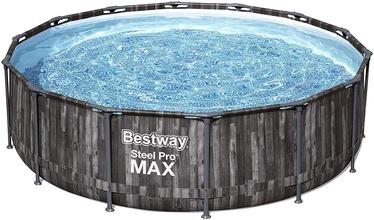 Бассейн Bestway Steel Pro Max 5614Z, черный, 4270x1070 мм, 1303 л