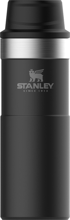 Stanley Classic One Hand Vacuum Mug 2.0 Black Matt 0.47l