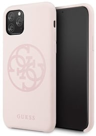 Guess 4G Tone On Tone Back Case For Apple iPhone 11 Pro Max Pink