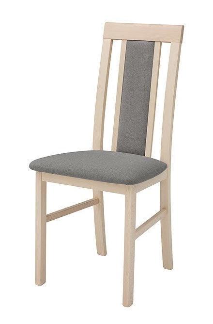 Ēdamistabas krēsls Black Red White Belia Sonoma Oak/Grey, 1 gab.