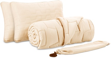 Dormeo AdaptiveGo Duvet And Pillow Set 200x200 Cream