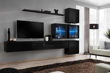 Dzīvojamās istabas mēbeļu komplekts ASM Switch XIX, melna