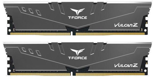 Team Group T-Force Vulcan Z Grey 16GB 3000MHz CL16 DDR4 KIT OF 2 TLZGD416G3000HC16CDC01