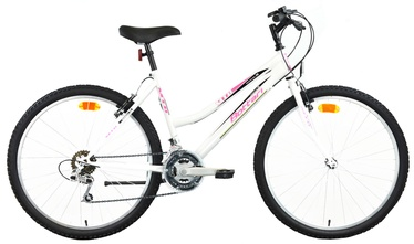 "Velosipēds Bottari Good Bike Oklahoma 46cm 26"" White Pink"