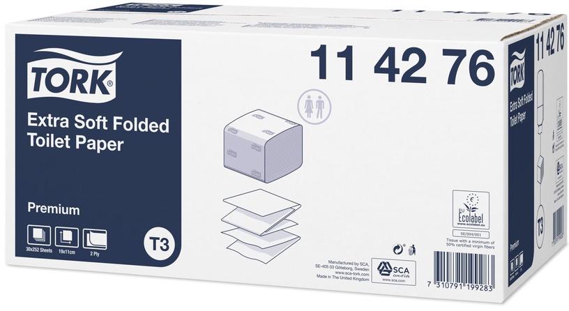 Tork Premium Toilet Paper 252 Sheets White