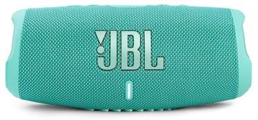 Bezvadu skaļrunis JBL JBLCHARGE5TEAL, zaļgana, 40 W