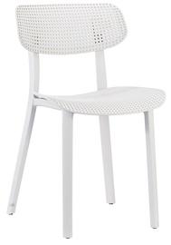 Ēdamistabas krēsls Home4you Novella 30012 White