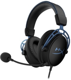 Austiņas Kingston HyperX Cloud Alpha S Black/Blue
