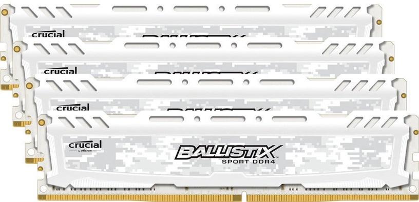 Crucial Ballistix Sport LT White 32GB 3000MHz CL15 KIT OF 4 BLS4K8G4D30AESCK