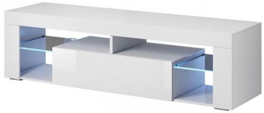 ТВ стол Vivaldi Meble Everest, белый, 1400x330x505 мм