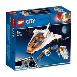 Konstruktors Lego City Satellite Service Mission 60224