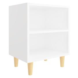 Ночной столик VLX, белый, 30x40x50 см