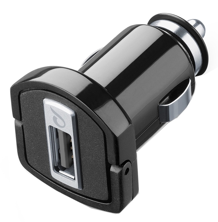 Cellular Line USB Car Charger Black
