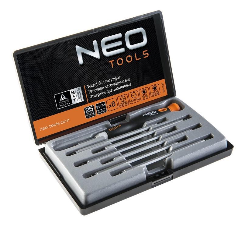 Neo Precision Screwdriver Set 8pcs