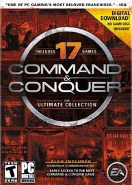 Компьютерная игра Command And Conquer The Ultimate Collection 17 Games DLC PC