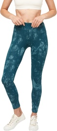 Audimas Printed Functional Tights Oil Blue S