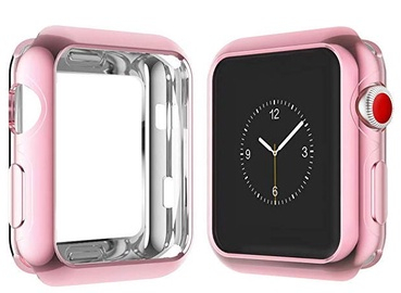 Dux Ducis Premium Silicone Case For Apple Watch 4 44mm Pink