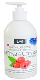 Жидкое мыло Eva Natura Hypoallergenic Wild Rose & Cornflower, 500 мл