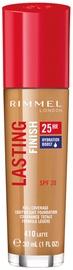 Tonizējošais krēms Rimmel London Lasting Finish 410 Latte, 30 ml
