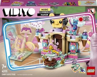 Konstruktors LEGO VIDIYO Candy Castle Stage 43111, 344 gab.
