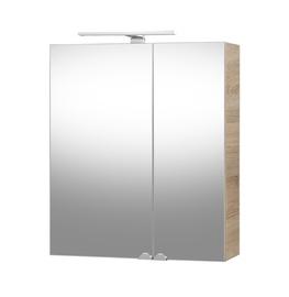 Vannas istabas spogulis ar apgaismojumu Riva Elegance SV60C 60,2x14x67,4cm