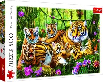 Puzle Trefl The Tiger Family 37350, 500 gab.