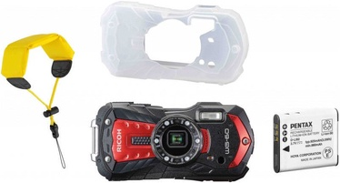 Sporta kamera Ricoh WG-60 Red with Battery/Cover/Wrist Band