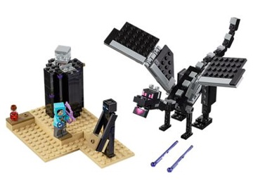 Konstruktors Lego Minecraft The End Battle 21151