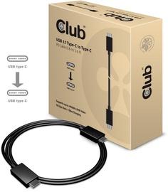 Club 3D USB 3.1 Type-C Cable 10Gbps 4K60Hz PD 100W M/M 0.8m Black