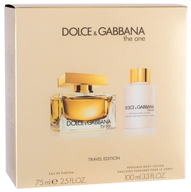 Dolce Gabbana The One 75ml EDP + 100ml Body Lotion