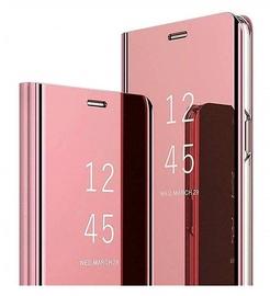 Чехол Mocco Clear View Samsung Galaxy A52 4G / A52 5G / A52S 5G, розовый
