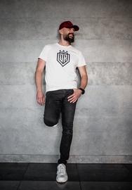 Dinamo Rīga Men T-Shirt White/Black XL