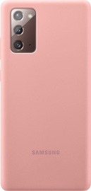 Samsung Silicone Back Case For Samsung Galaxy Note 20 Bronze