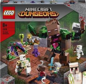Конструктор LEGO Minecraft The Jungle Abomination 21176, 489 шт.