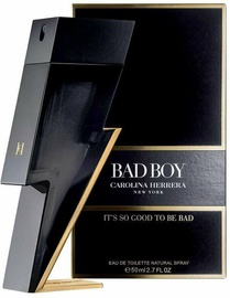 Туалетная вода Carolina Herrera Bad Boy 50ml EDT